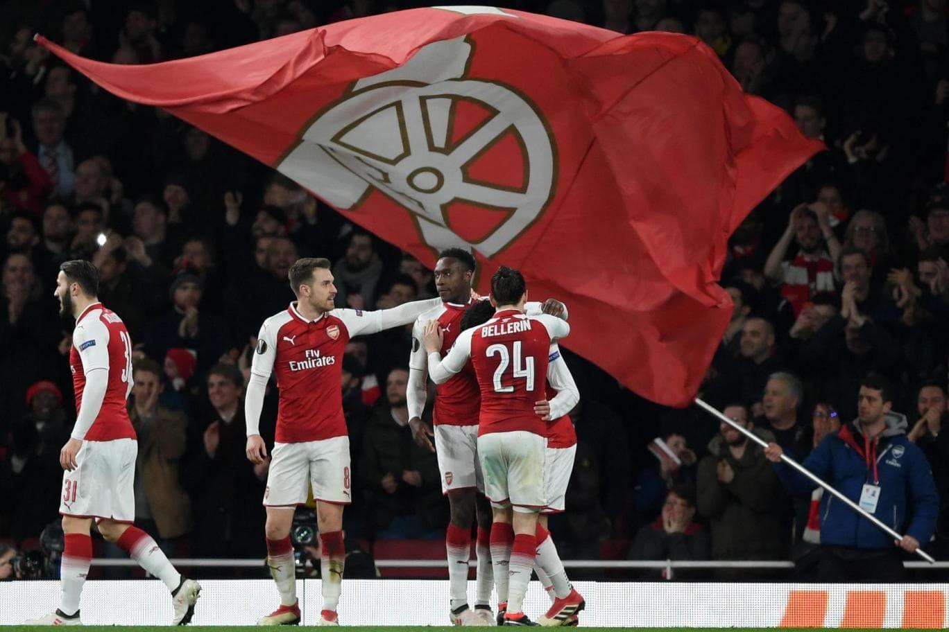Arsenal - CSKA Moscow Europa League