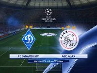 Champions League Dynamo Kiev vs Ajax  28/08/2018