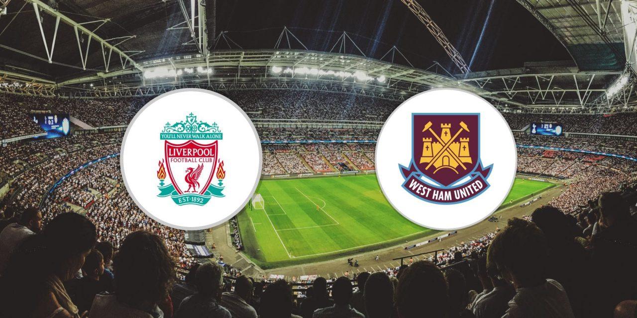 Premier League Liverpool vs West Ham