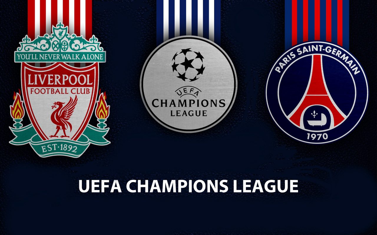 Champions League Liverpool vs PSG