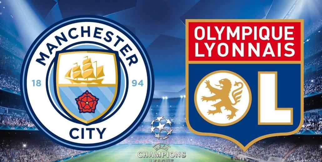 Champions League Manchester City vs Lyon 19/09/2018