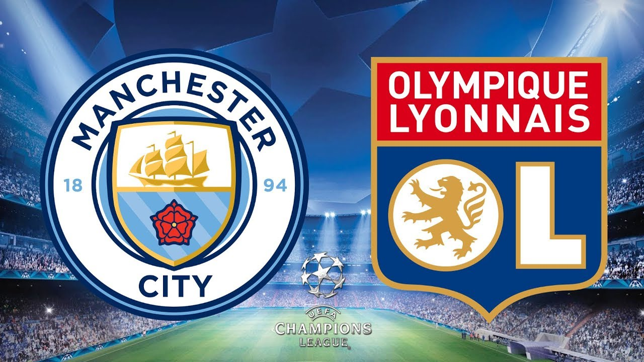 Champions League Manchester City vs Lyon