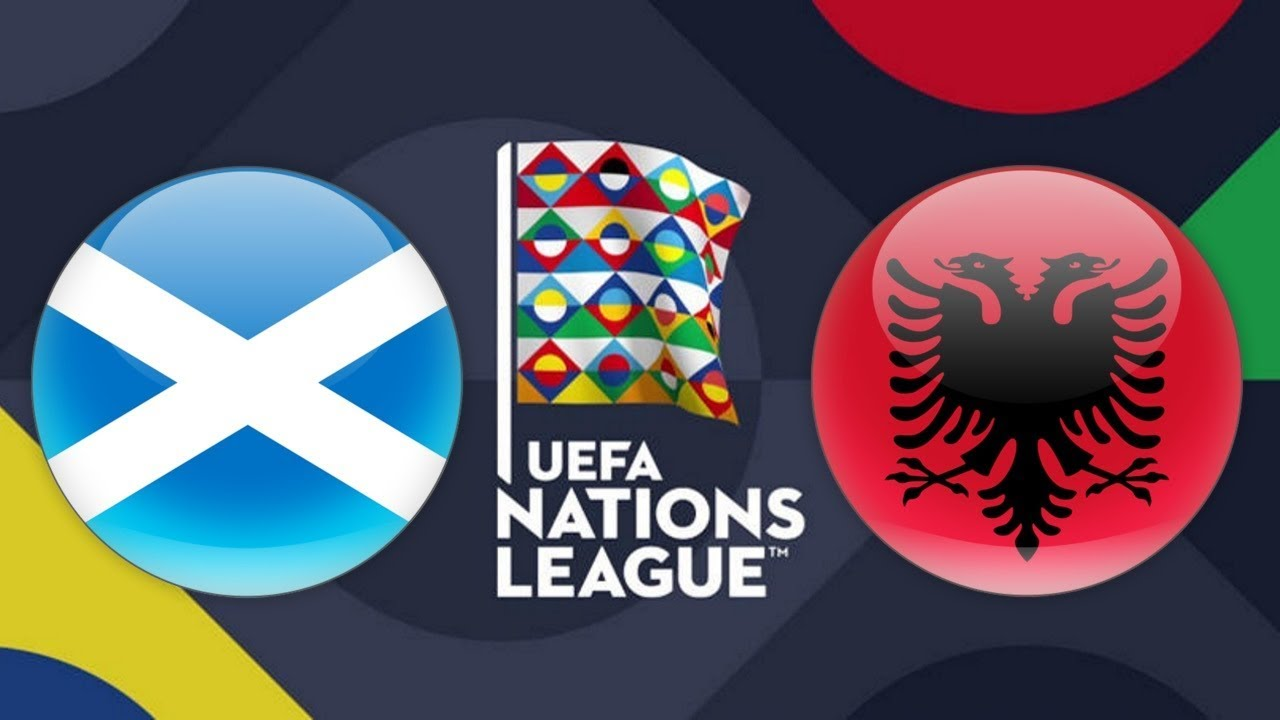 UEFA Nations League Scotland vs Albania