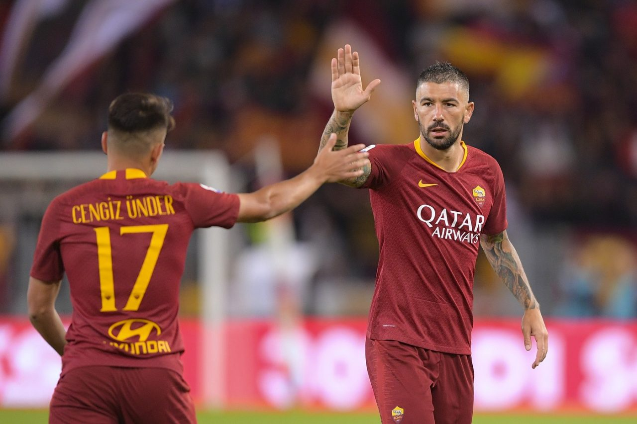 Champions League AS Roma vs Viktoria Plzen