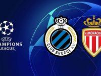 Champions League Fc Brugge vs Monaco 24/10/2018