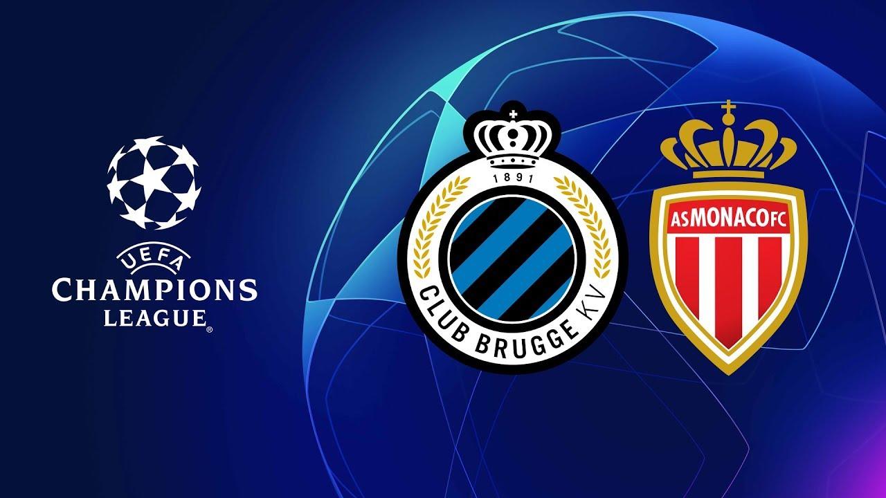 Champions League Fc Brugge vs Monaco