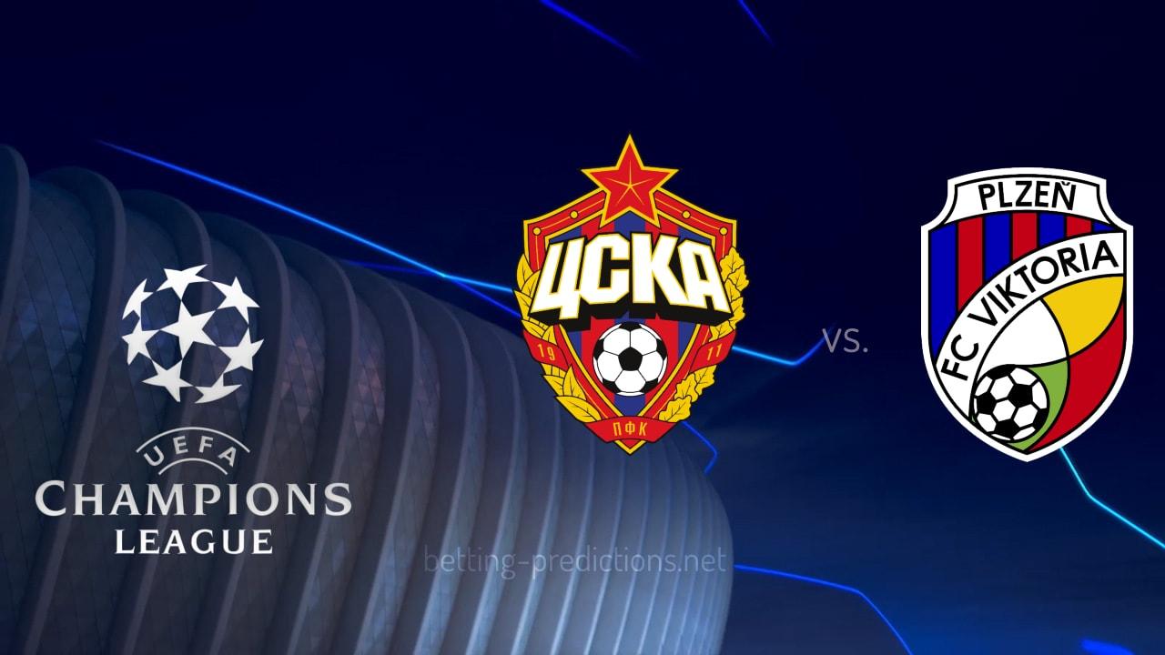 CSKA Moscow vs Viktoria Plzen Champions League