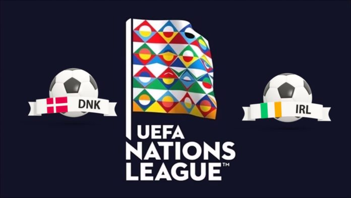 Denmark vs Ireland UEFA Nations League