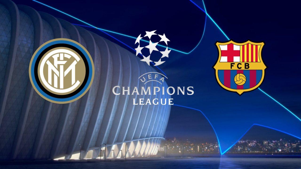 Champions League Inter vs FC Barcelona
