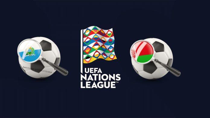 UEFA Nations League San Marino vs Belarus