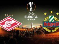 Spartak Moscow vs Rapid Vienna Europa League 29/11/2018