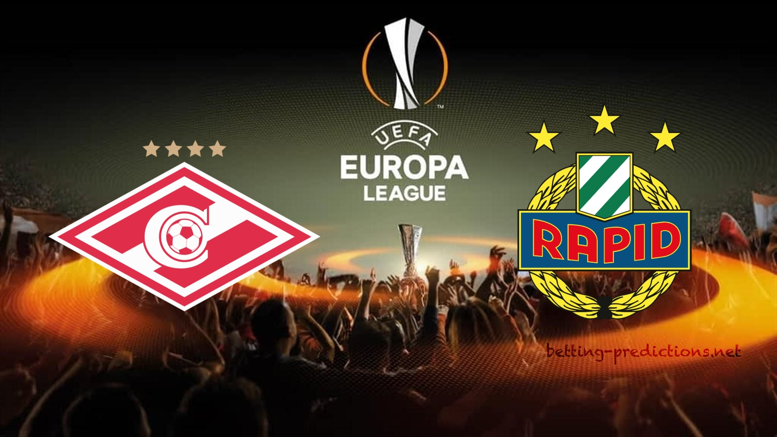 Spartak Moscow vs Rapid Vienna Europa League