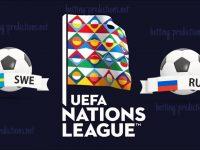 Sweden vs Russia UEFA Nations League 20/11/2018