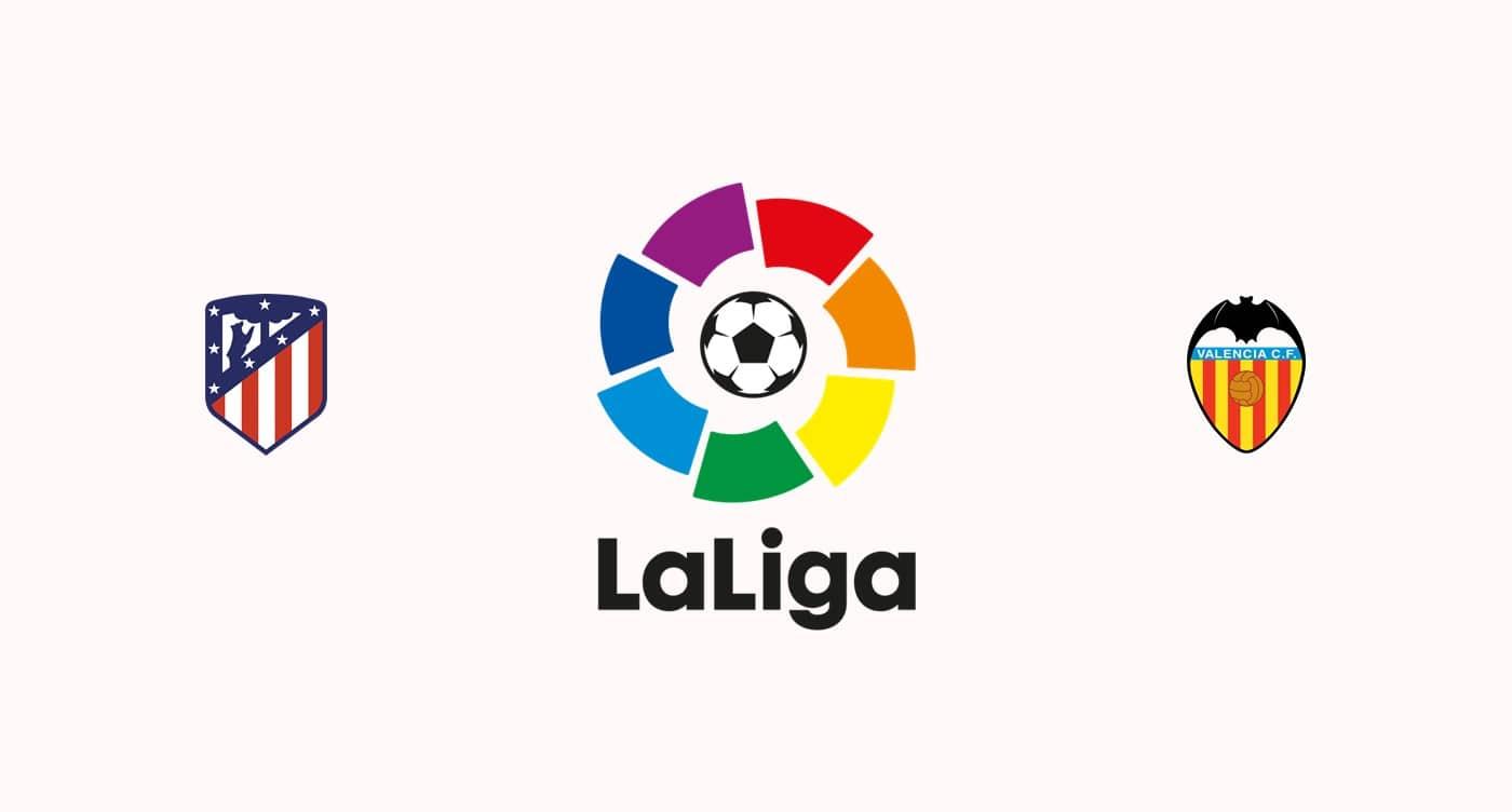 Atletico Madrid vs Valencia Betting Predictions